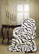 Luxusní deka akrylová-160x210cm-zebra