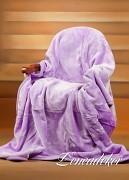 Luxusní deka akrylová lila bez motivu-160x210cm-vzor 10 (26)