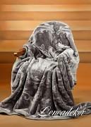 Luxusní deka akrylová-160x210cm-vzor 33 (29)-vytlačený vzor