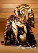 Deka španělská tigr 160x210cm vzor 38