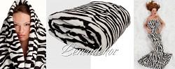 Deka mikrovlákno Zebra 200x220cm