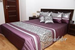 Luxusní přehoz na postel 29S-rozměry š.170cmx d.210cm(včetně 2ks povlaků na polštář 50x60cm)