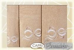 Sada ručníků 3RC22c Capri 3-dílný