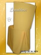 POTAH na židli žlutý Noblesse č.101