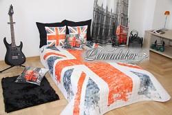 Přehoz na postel 3D- Anglie