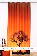 Moderní závěs fotomotiv-Strom set 2ks