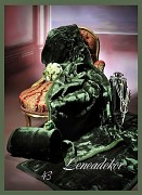 Přehoz na sedací soupravu vzor 43 zelený lahvový -akrylový-hladký