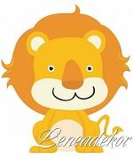 Samolepky Zvířátka- Lev