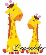 Samolepky Zvířátka- Žirafy