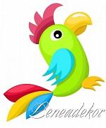 Samolepky Zvířátka- Papoušek