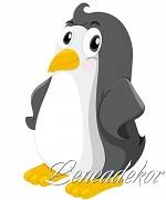 Samolepky Zvířátka- Tučňák