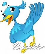Samolepky Zvířátka- Ptáček