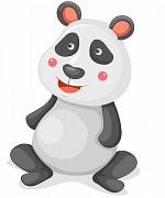 Samolepky Zvířátka- Panda