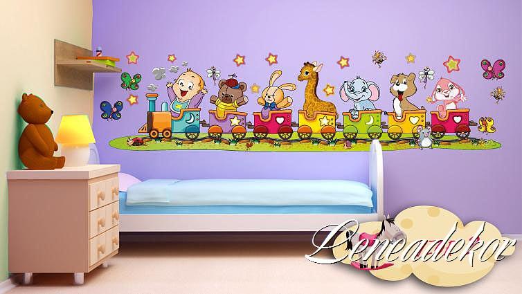 Šablony na zeď do dětského pokoje