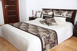 Luxusní přehoz na postel 39C-rozměry š.170cmx d.210cm(včetně 2ks povlaků na polštář 50x60cm)