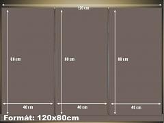 120x80cm 3díly