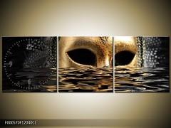 Obraz jako hodiny maska