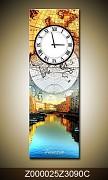 Obraz jako hodiny OJh0025Z 30x90cm