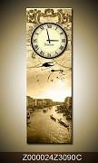 Obraz jako hodiny OJh0024Z 30x90cm