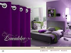 Závěs fialový SET 2ks