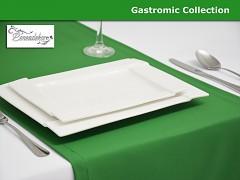 Běhoun na stůl- 25BG -tmavě zelený