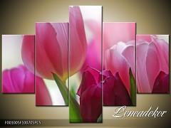 Obraz na zeď-květy- 5D F001005