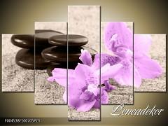 Obraz na zeď-květy- 5D F004538