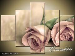 Obraz na zeď-květy- 5D F001212