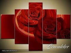 Obraz na zeď-květy- 5D F001254