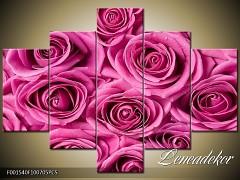 Obraz na zeď-květy- 5D F001540