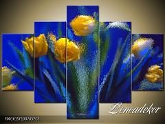 Obraz na zeď-květy- 5D F001615
