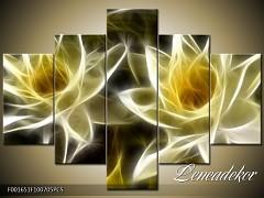 Obraz na zeď-květy- 5D F001651