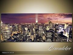 Obraz na zeď-města,architektura- Panorama F002615