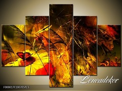 Obraz na zeď-abstrakce- 5D F000017