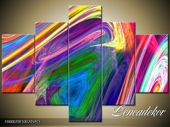 Obraz na zeď-abstrakce- 5D F000070