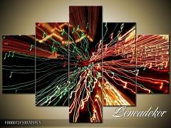 Obraz na zeď-abstrakce- 5D F000072
