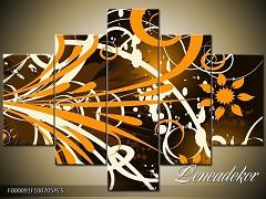 Obraz na zeď-abstrakce- 5D F000091