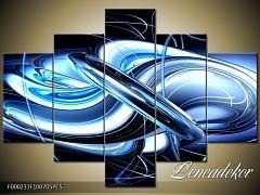 Obraz na zeď-abstrakce-F000231