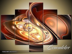 Obraz na zeď-abstrakce-5D F000298