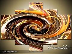 Obraz na zeď-abstrakce-5D F000336