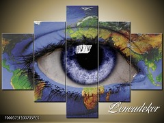 Obraz na zeď-abstrakce-5D F000371