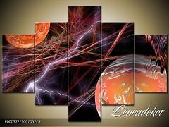 Obraz na zeď-abstrakce-5D F000372