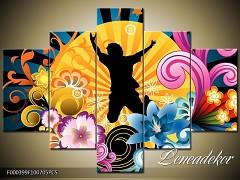 Obraz na zeď-abstrakce-5D F000399