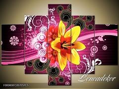 Obraz na zeď-abstrakce-5D F000400