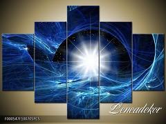Obraz na zeď-abstrakce-5D F000547