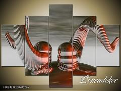 Obraz na zeď-abstrakce-5D F002423