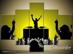 Obraz na zeď-hudba-5D F000044