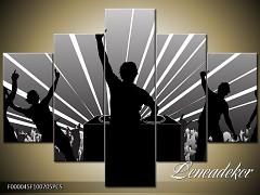 Obraz na zeď-hudba-5D F000045