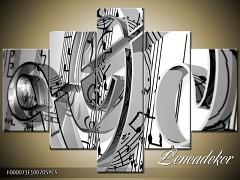 Obraz na zeď-hudba-5D F000071