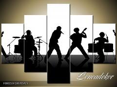 Obraz na zeď-hudba-5D F000153